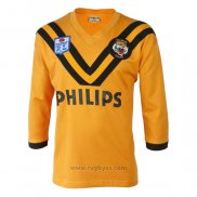 Camiseta Wests Tigers Rugby ML 1989 Retro
