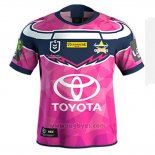 Camiseta North Queensland Cowboys Rugby 2019-2020 Conmemorative Rosa