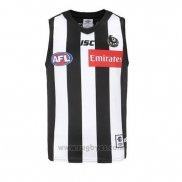 Camiseta Collingwood Magpies AFL 2019 Negro Blanco