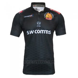 Camiseta Exeter Chiefs Rugby 2017-18 Local