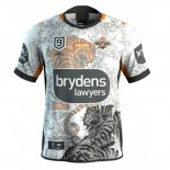Camiseta Wests Tigers 9s Rugby 2020 Blanco