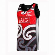 Nueva Zelandia All Blacks Rugby Tank Top Rojo