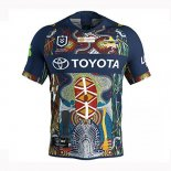 Camiseta North Queensland Cowboys Rugby 2019 Indigena