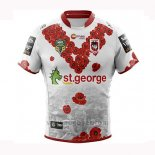 Camiseta St George Illawarra Dragons Rugby 2018-19 Conmemorative