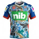 Camiseta Newcastle Knights Rugby 2019 Indigena