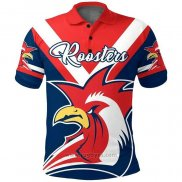 Camiseta Polo ydney Roosters Rugby 2021 Indigena