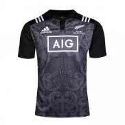 Camiseta Nueva Zelandia All Blacks Rugby 2016-2017 Maori