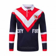 Camiseta Polo ydney Roosters Rugby ML 1976 Retro