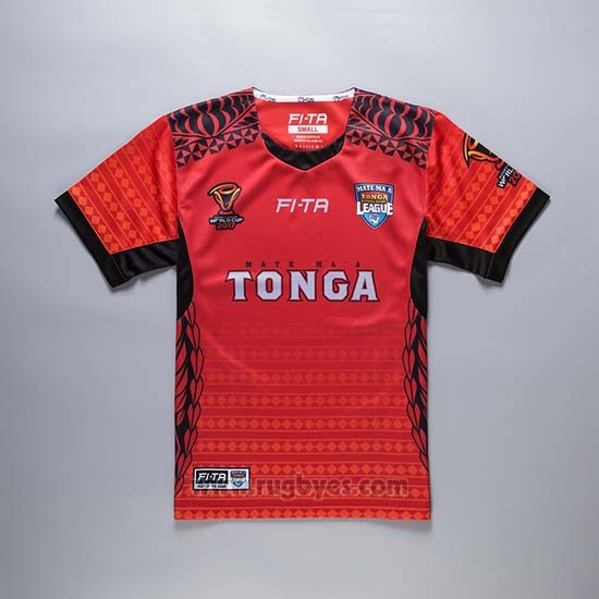 Camiseta Tonga Rugby RLWC 2017 Local