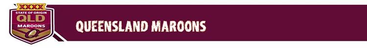 rugbyes Queensland Maroons 2019