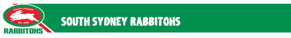 rugbyes South Sydney Rabbitohs 2019
